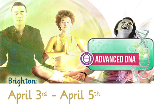 theta healing advanced dna april 3rd-5th